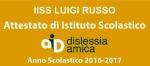 Attestazione Dislessia Amica IISS Luigi Russo